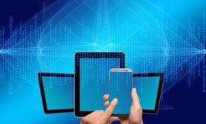 Illustration téléphone et tablette