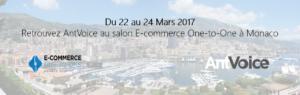 AntVoice est au salon e-commerce de Monaco