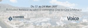 Bannière invitation au salon One-to-One avec AntVoice
