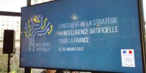 Image représentant le lancement de la stratégie en IA pour la France