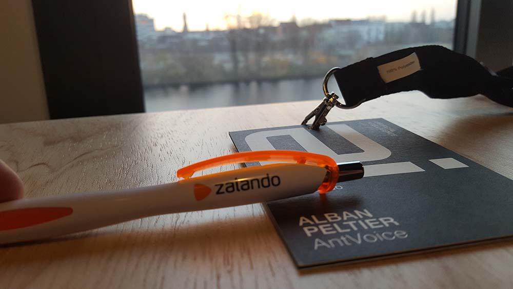 AntVoice chez Zalando à Berlin !