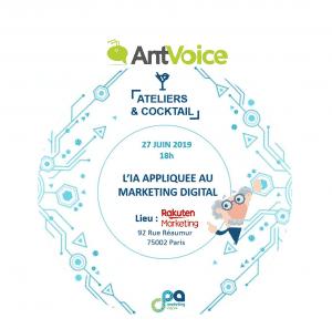 AntVoice vous donne RDV le 27 juin 2019 pour le TechnoDrink avec le CPA