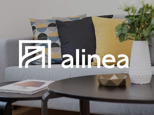 Logo de Alinea, référence AntVoice