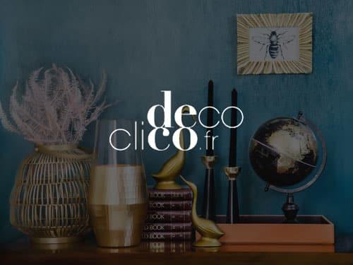 Logo de DecoClico, référence AntVoice
