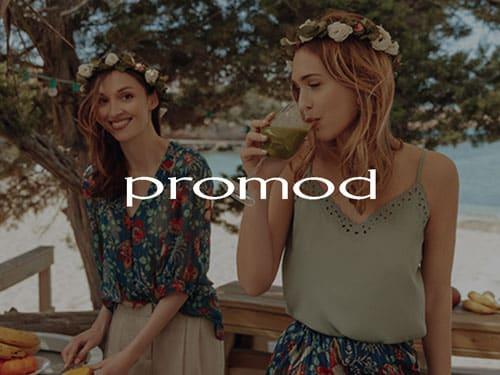 Logo de Promod, référence AntVoice